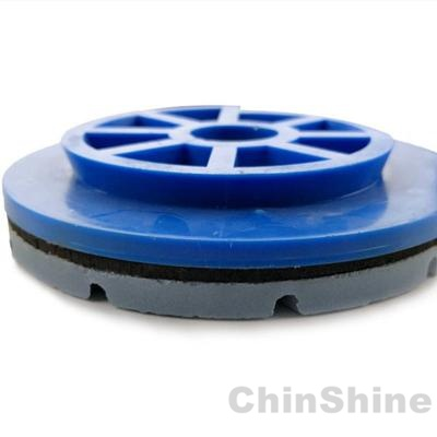 Edge diamond polishing pads for stone