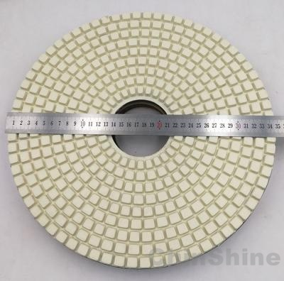 14 inch, 16 diamond polishing pads for concrete