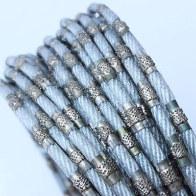 fine diamond wire rope for jade, marble