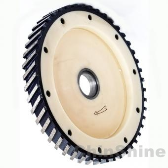 Diamond milling wheel for grinding marble granite